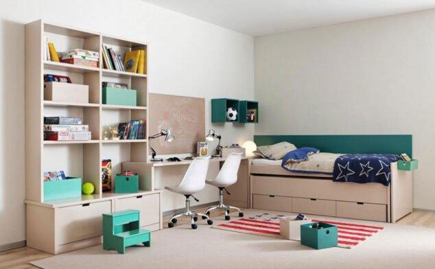 Imagen: Dormitorio juvenil en Muebles Martíneza