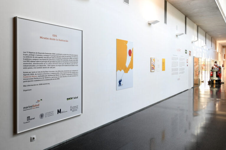 Exposición en el Hospital de Dénia