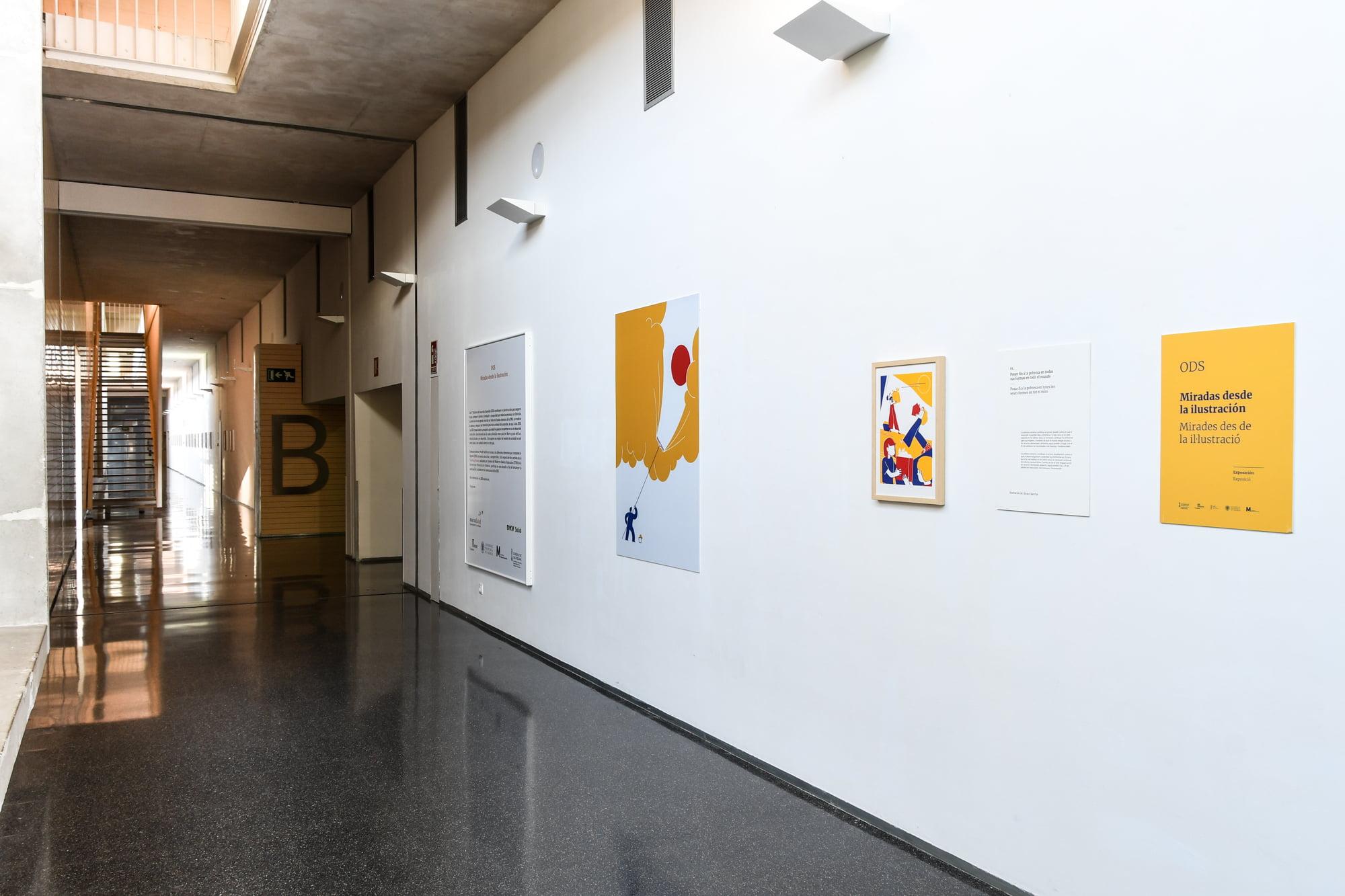 Exposición ODS-Miradas de la Ilustración