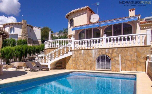 Imagen: Exterior de un chalet en venta en Balcón al Mar en Jávea - MORAGUESPONS Mediterranean Houses