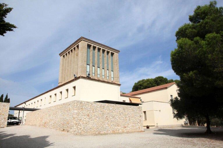 Vista exterior del Santuari de la Mare de Déu dels Àngels de Xàbia