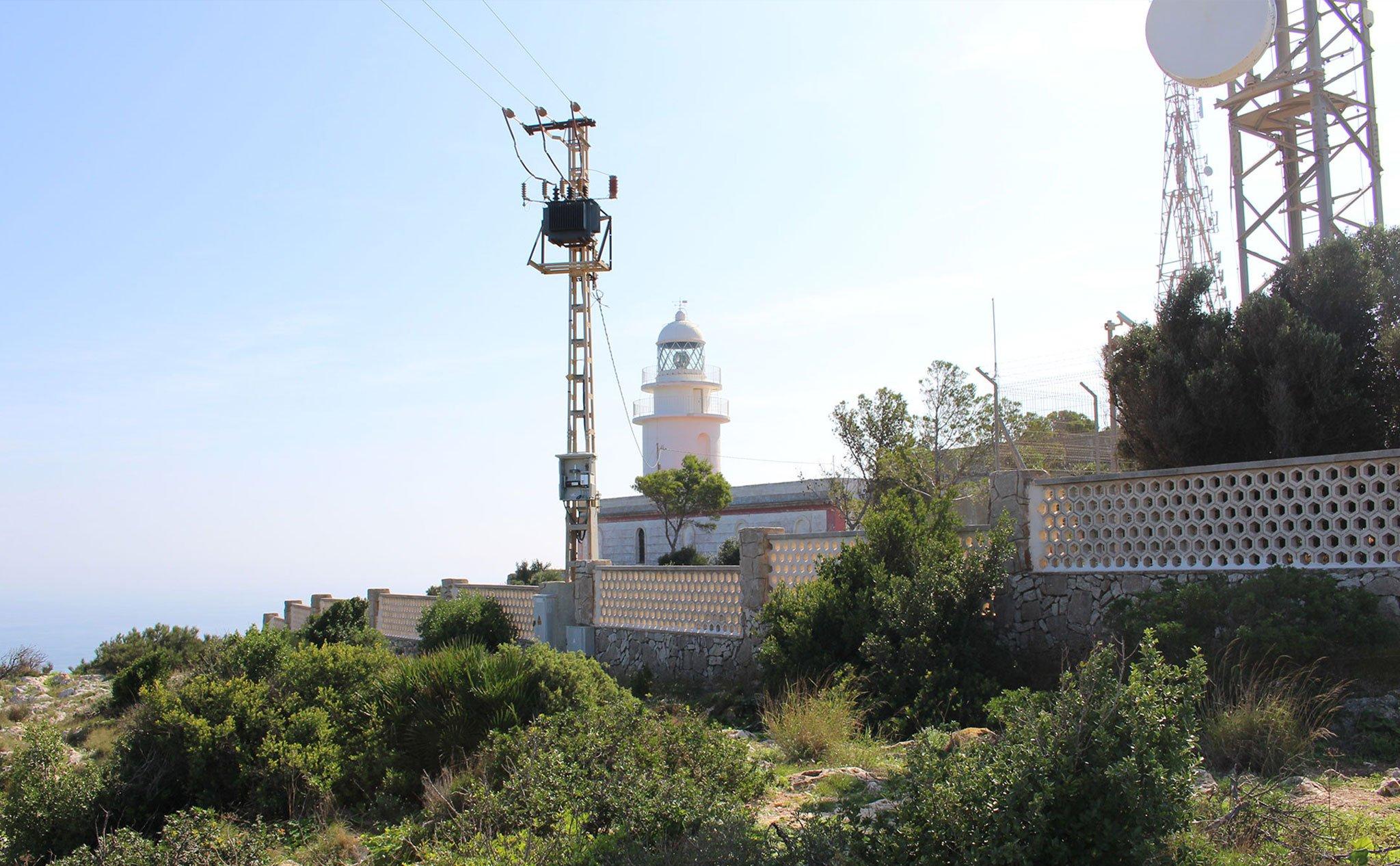 Faro del Cabo de San Antonio de Jávea
