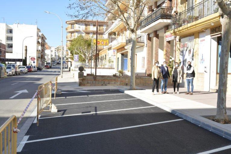 Finalizan las obras de mejora de la Avenida Juan Carlos I