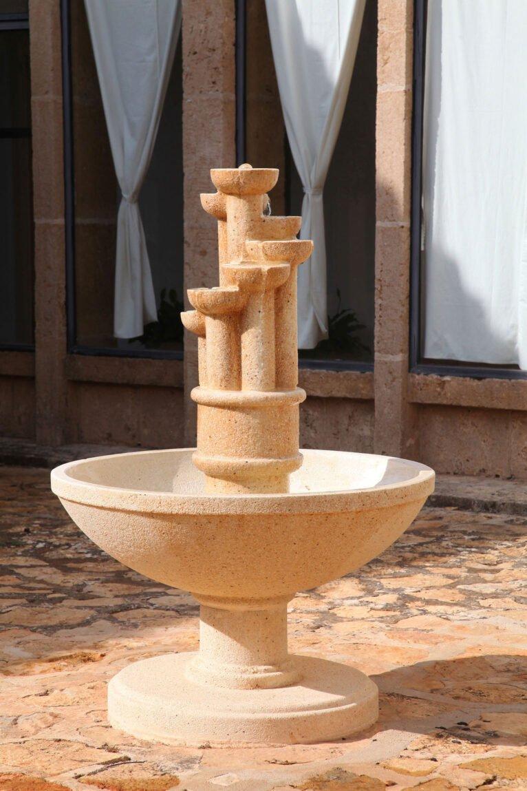 Fuente en el Monestir de la Plana de Xàbia