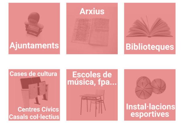 Imagen: Guía de infraestructuras comarcales
