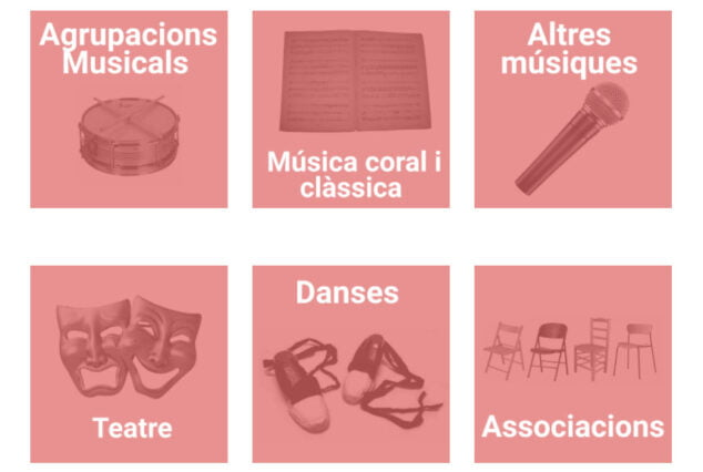 Imagen: Guía de recursos culturales