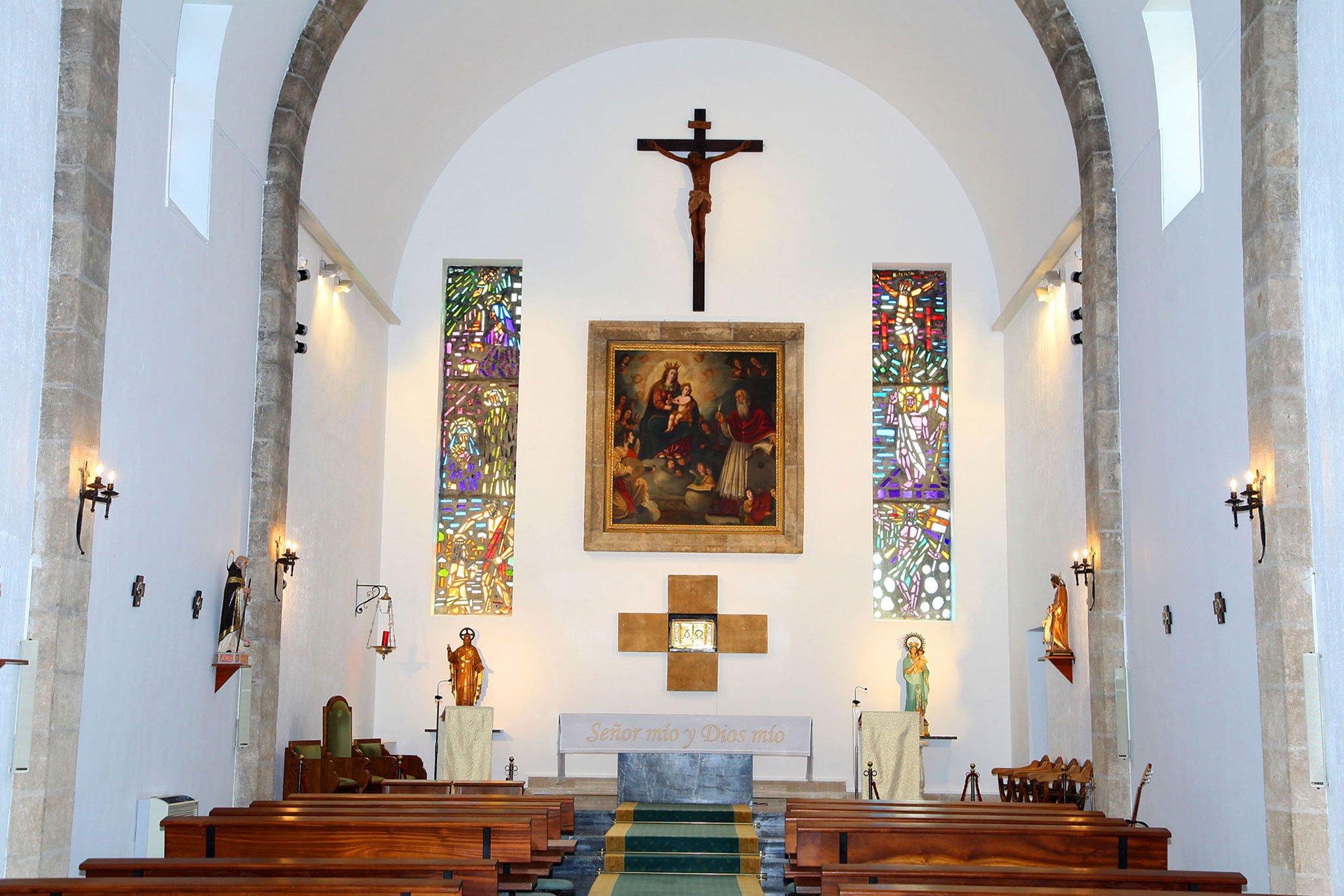 Imagen de la capilla en honor a la Mare de Déu dels Àngels en Xàbia