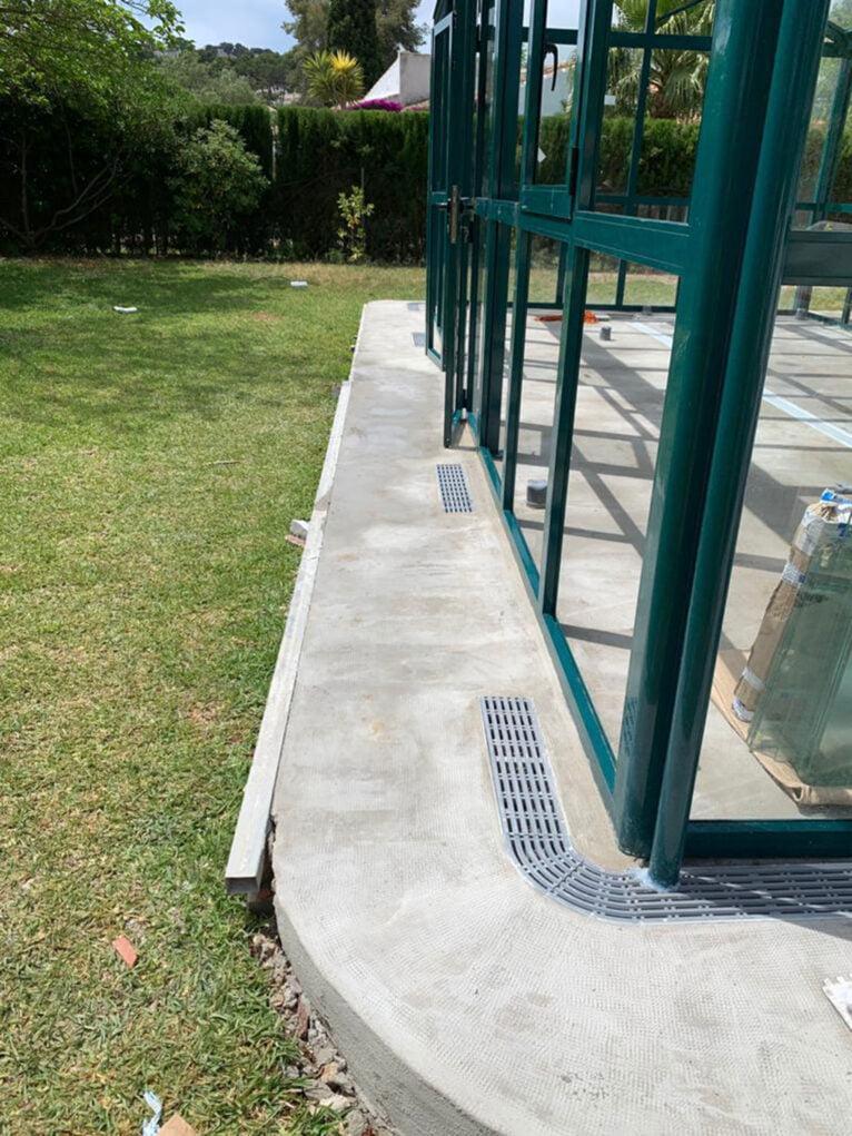 Invernadero con tres tipos de agua en Jávea - Avexia