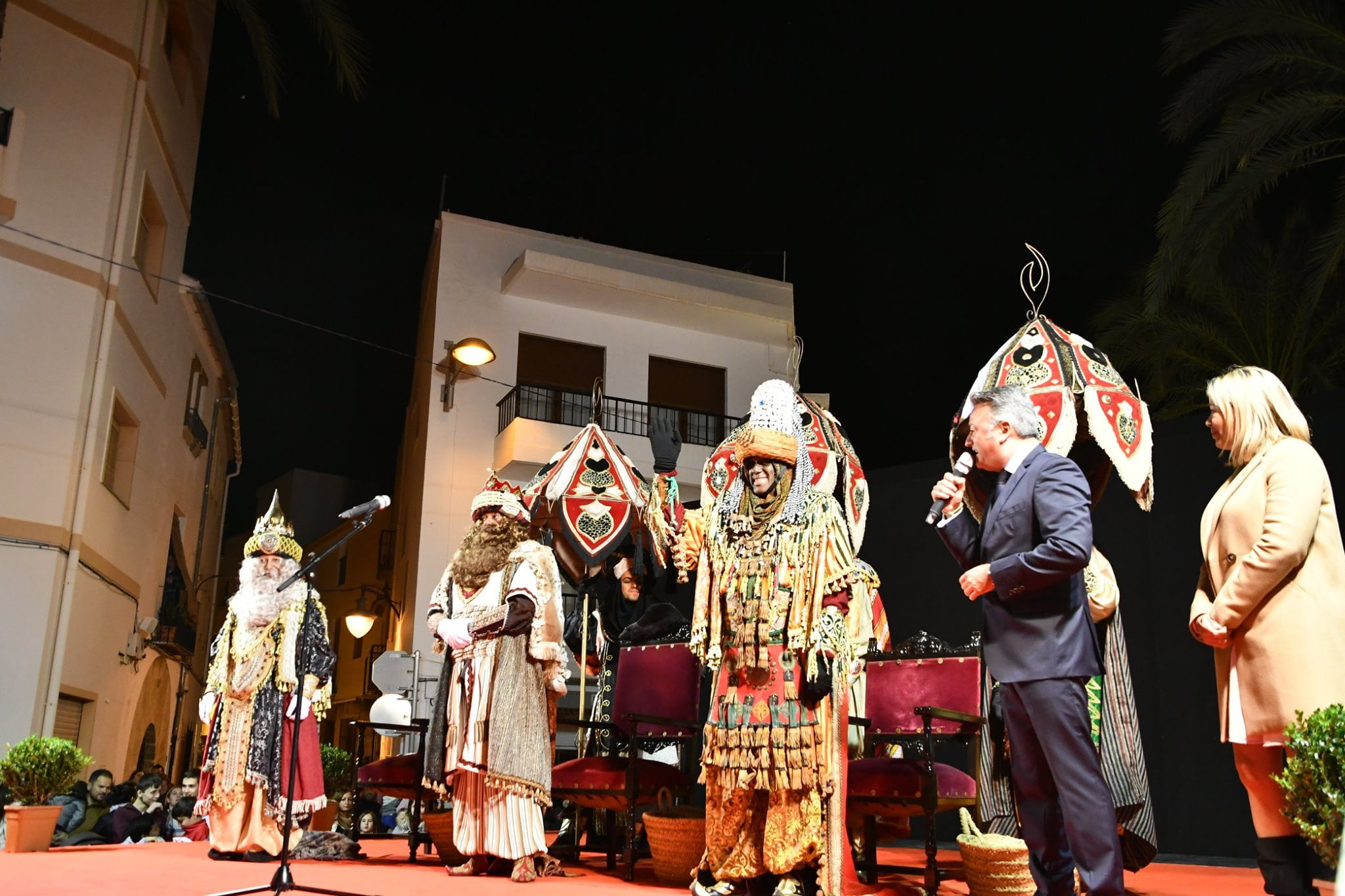 Llegada de los Reyes Magos al casco histórico de Jávea
