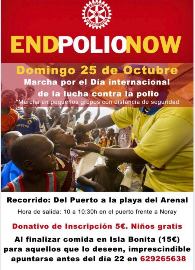 Imagen: Marcha contra la polio