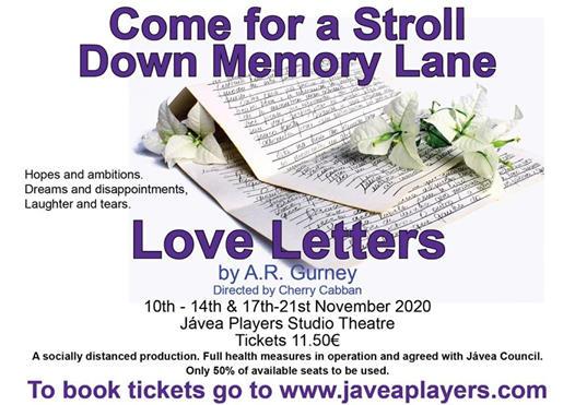 Obra de Teatro Love Letters