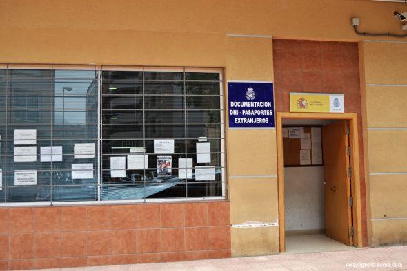 Imagen: Oficina del DNI de Dénia