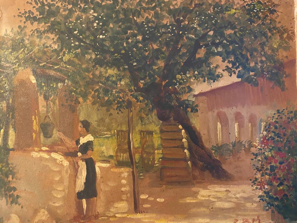 Oleo pintado por Pedro Bas Codina en 1939