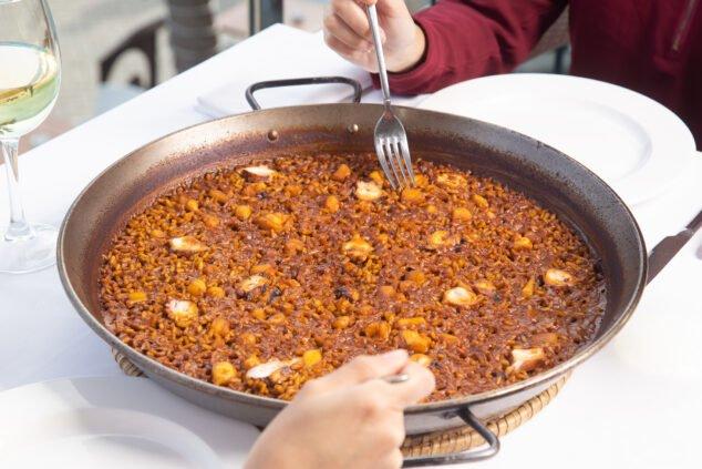 Imagen: Paella de pulpo de Restaurante Noray