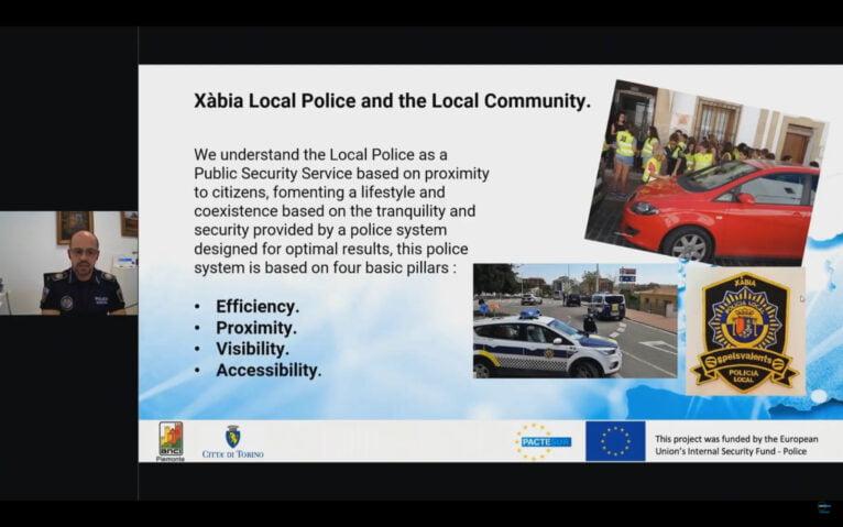 Presentación de los proyectos de Xàbia