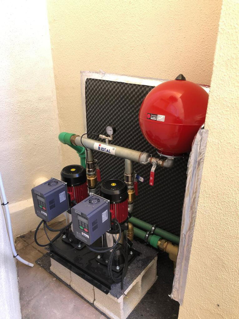 Presión de agua en comunidades de vecinos - Avexia