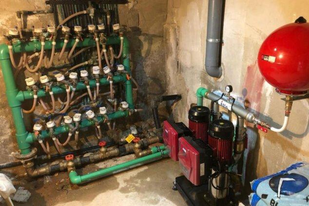 Imagen: Equipo de presión de agua - Avexia