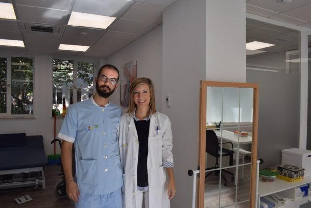 Imagen: Profesionales que atienden la Unidad Ambulatoria del Daño Cerebral