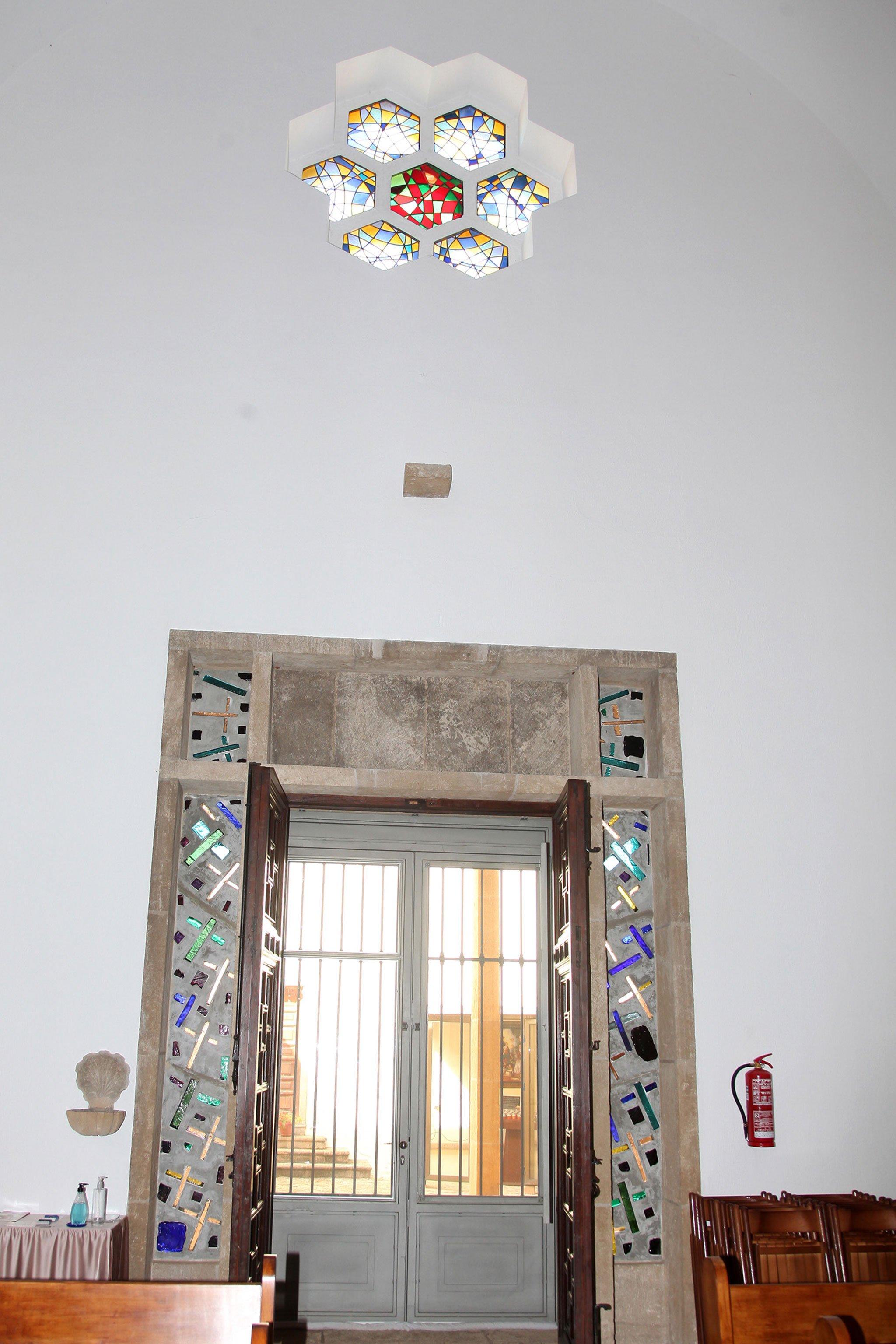 Puerta de la capilla del Monasterio de la Plana de Jávea