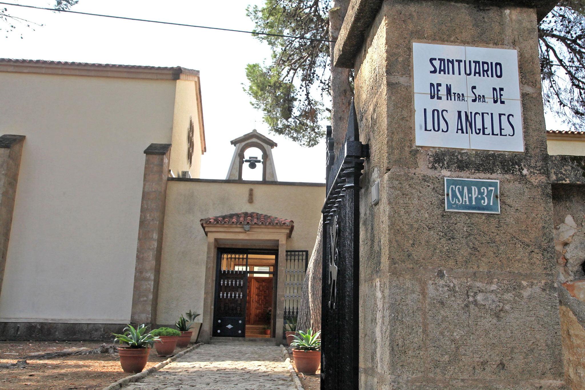 Puerta exterior del Monasterio de la Plana de Jávea