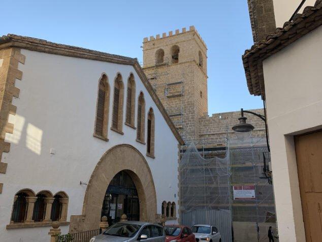 Imagen: Restauración Iglesia San Bartolomé