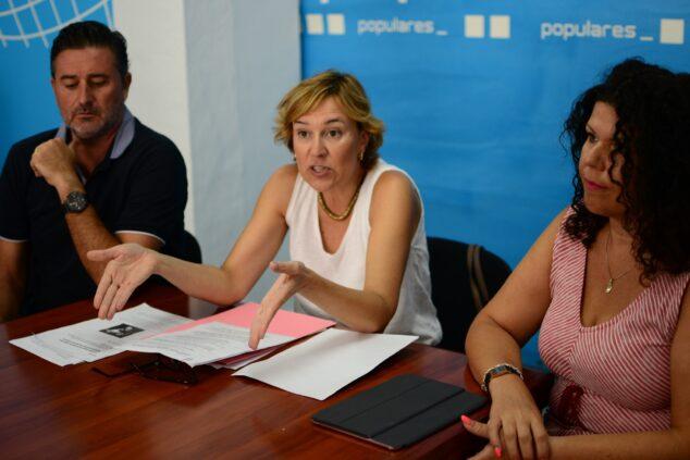 Imagen: Rosa Cardona, portavoz del PP de Xàbia