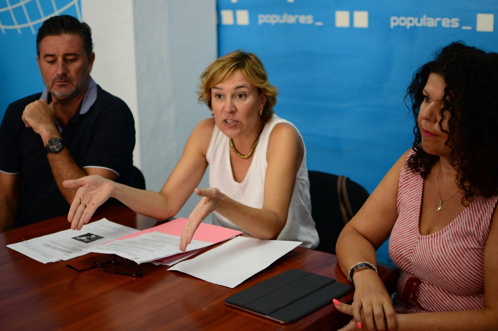 Rosa Cardona, portavoz del PP de Xàbia