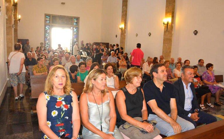 El Santuari de la Mare de Déu dels Àngels el dia 2 de agosto, día de la virgen