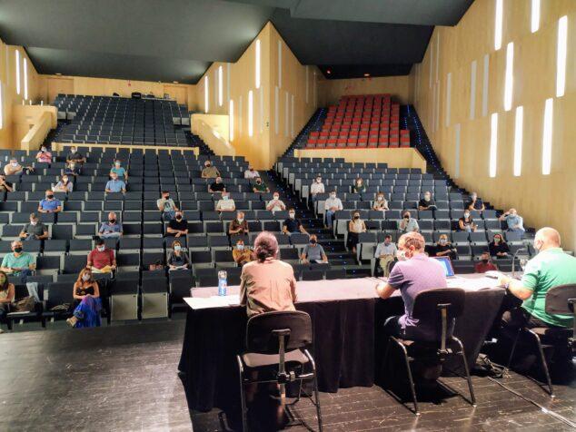 Imagen: Sesión plenaria de la MACMA