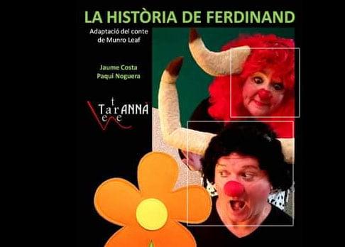 Imagen: Taranna Teatre con Ferdinand