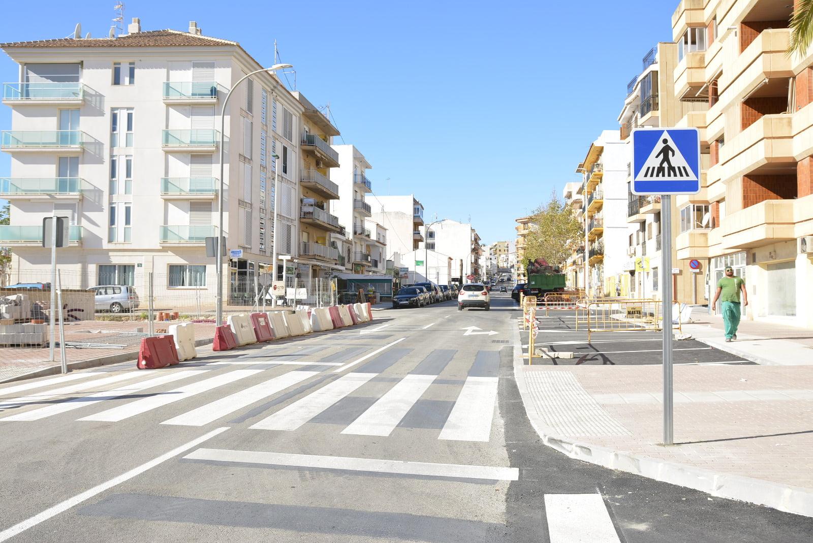 Terminada la actuación de renovación de la Avenida Juan Carlos I
