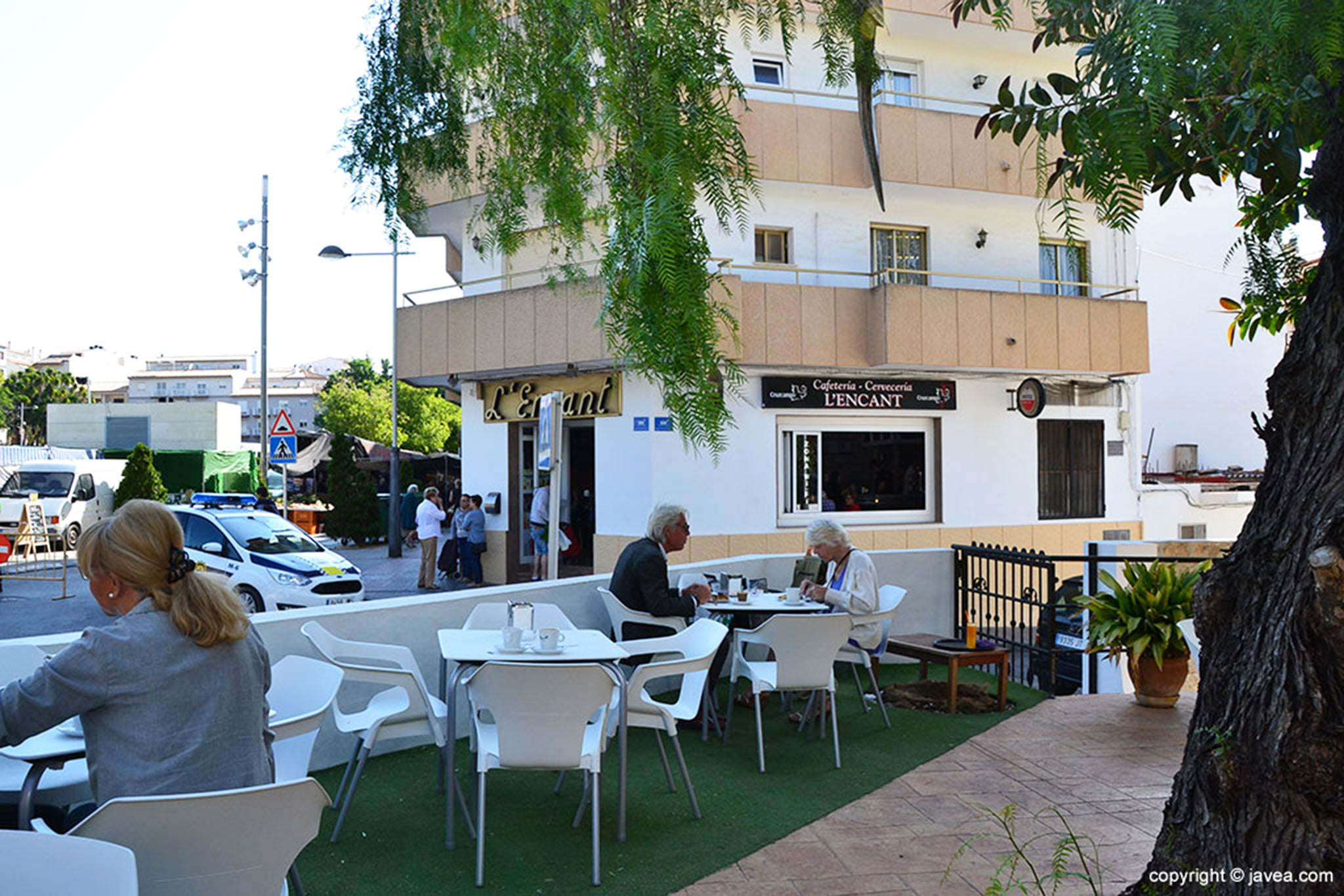 Terraza exterior de Cafetería L'Encant