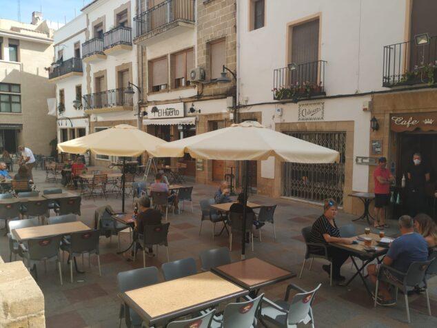 Imagen: Terrazas de bares y restaurantes de Xàbia Histórica