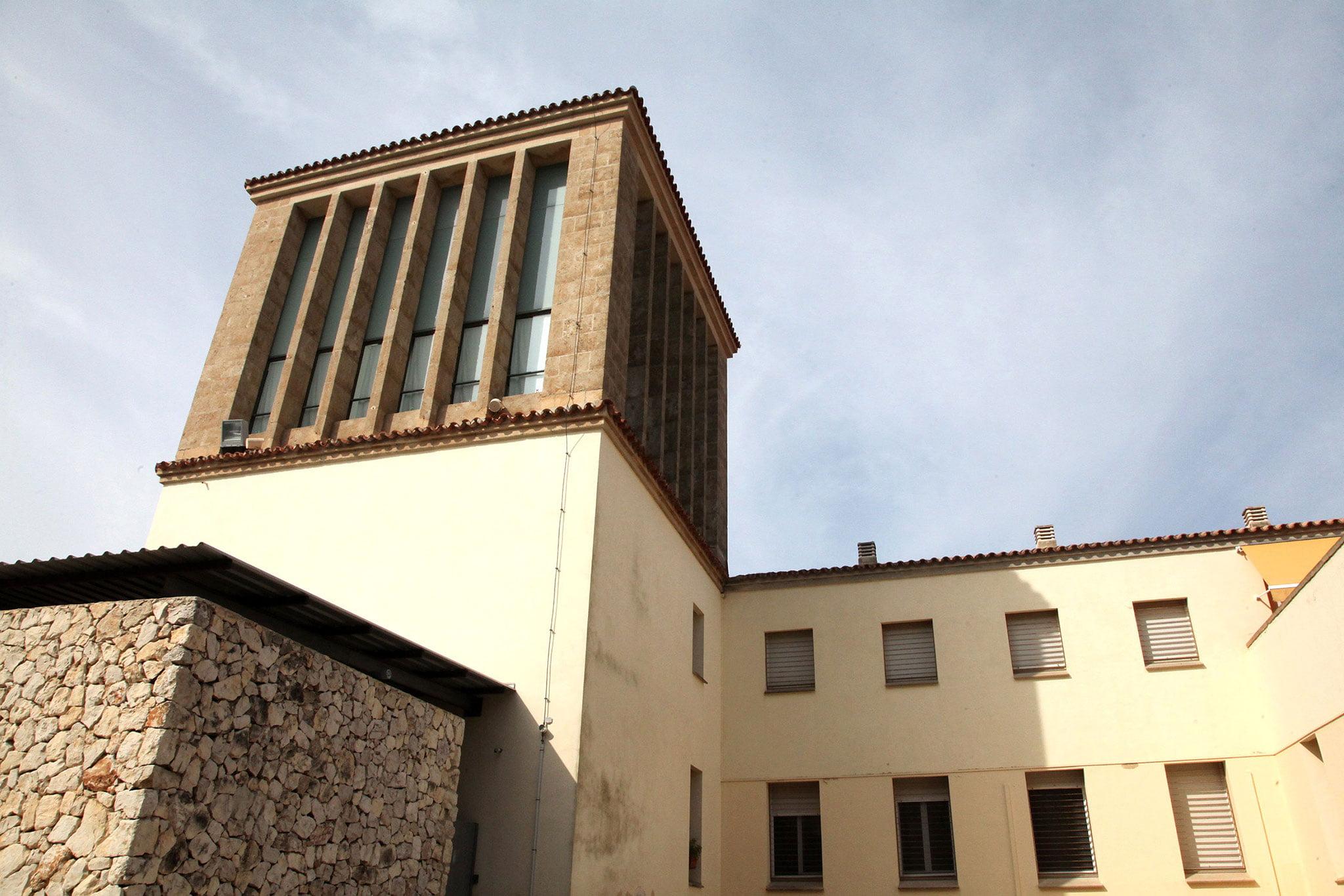 Torre campanario del Santuari de la Mare de Déu dels Àngels de Xàbia