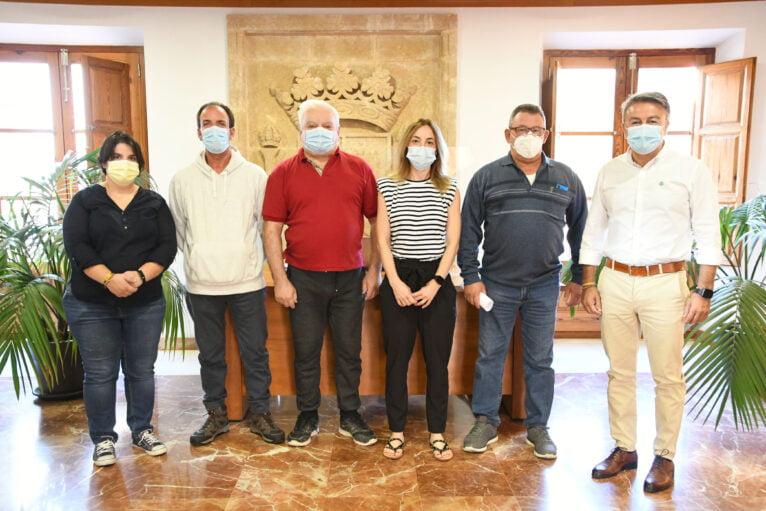 Trabajadores del Programa Encorp Xàbia