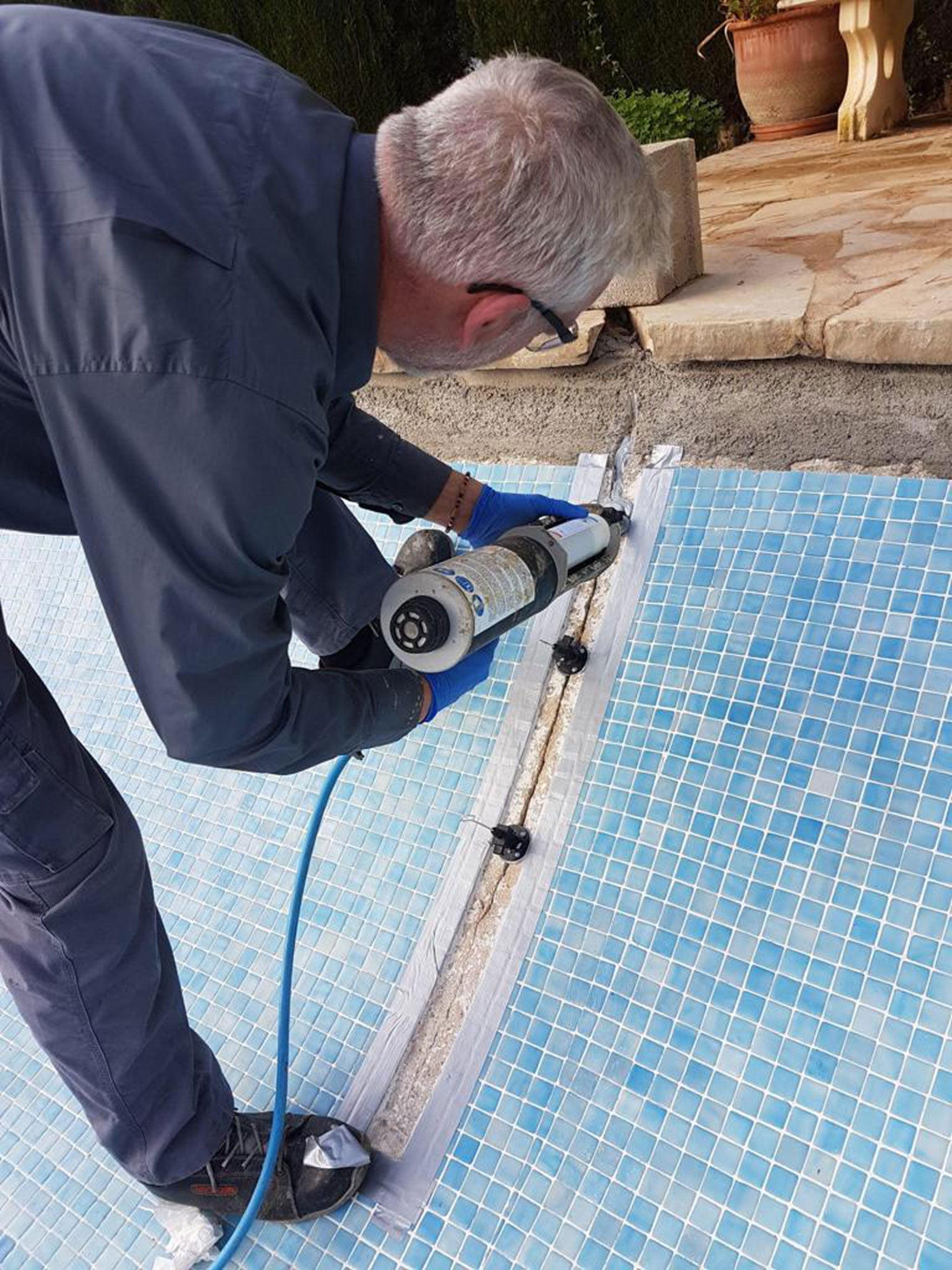 Trabajos en piscinas en Jávea – Avexia