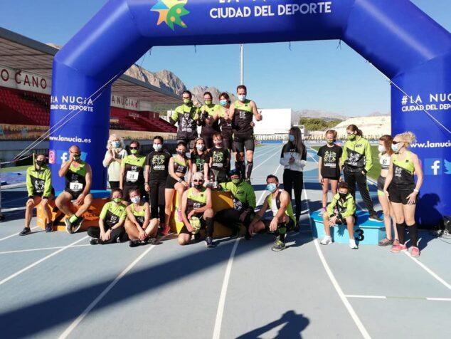 Imagen: Atletas del Club Atletisme Llebeig