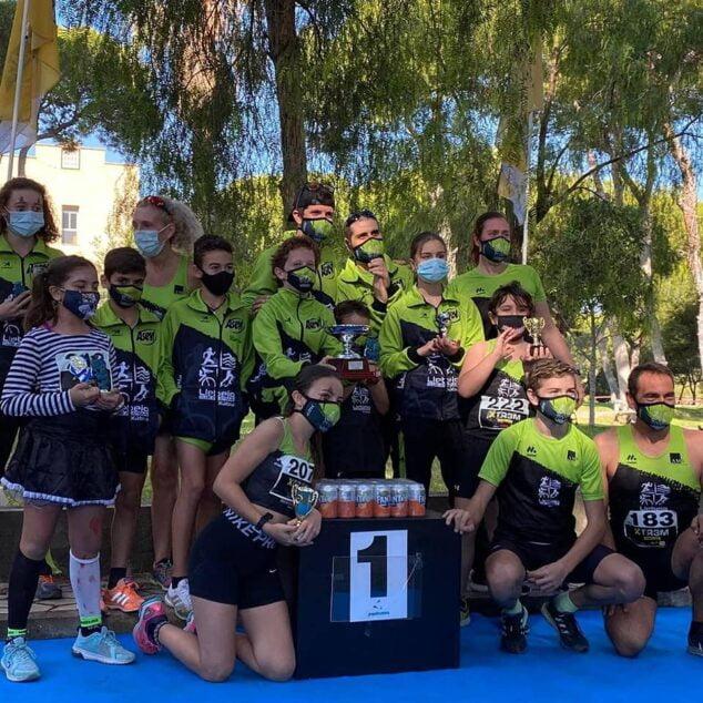Imagen: Atletas del Club en el Circuit Extrem