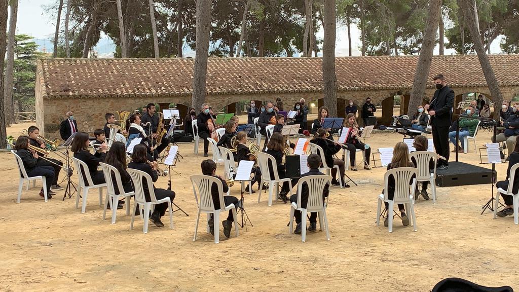Banda Juvenil del CAM en un concierto