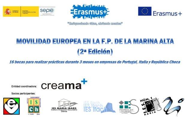 Imagen: Becas para Erasmus +