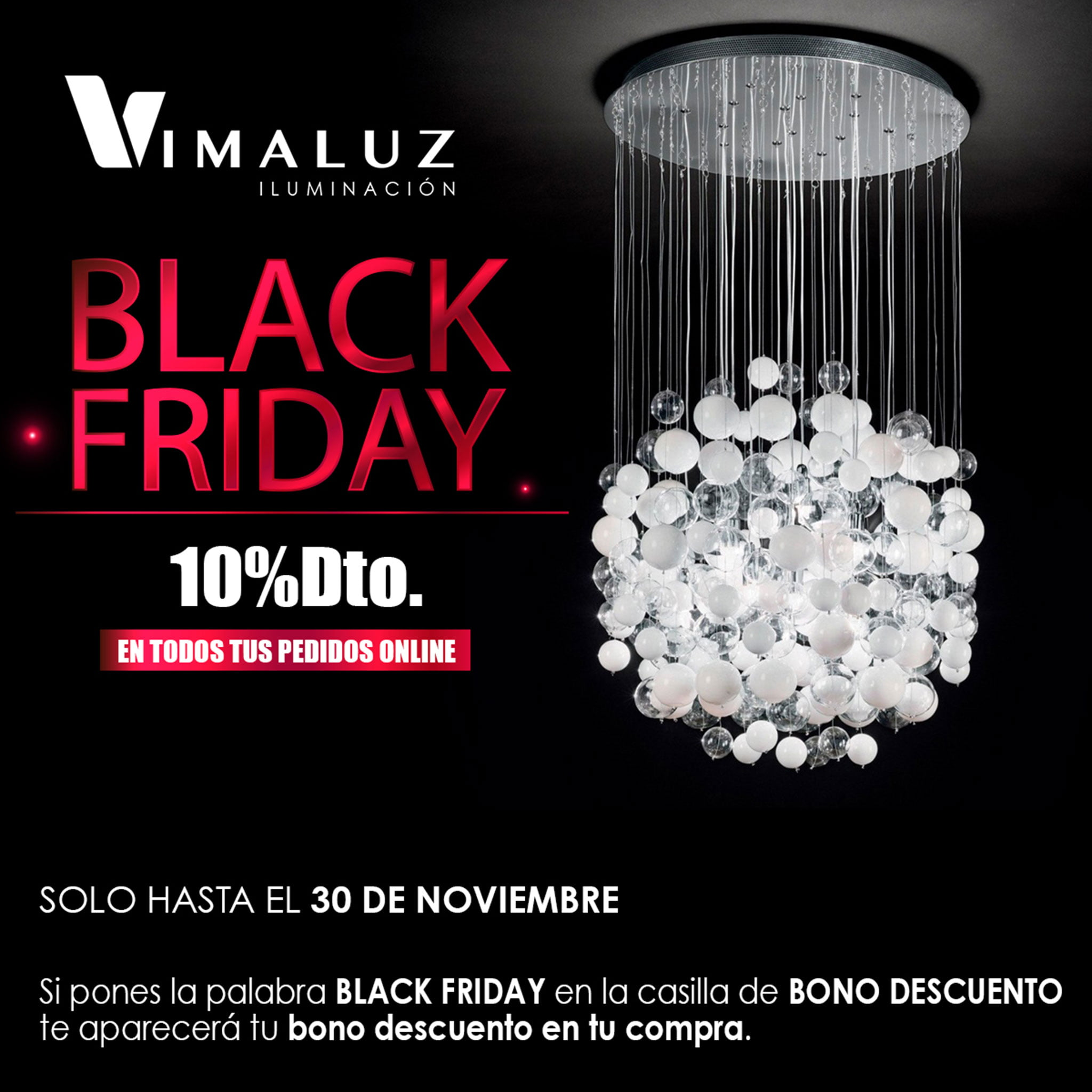 Campaña Black Friday en Vimaluz