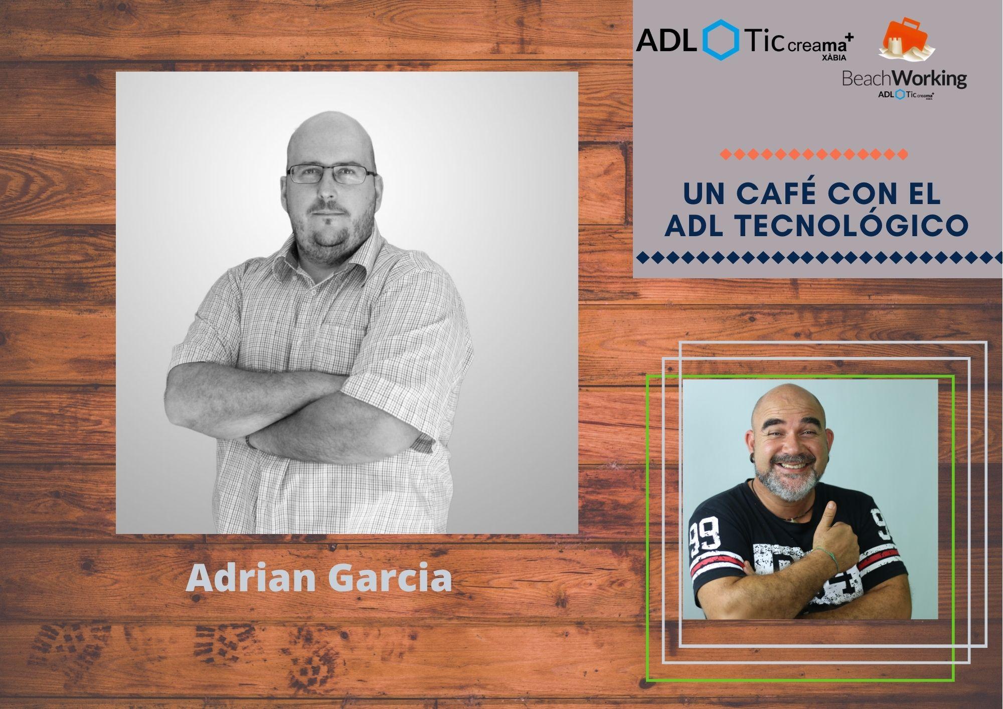 Café Tecnológico con Adrián García