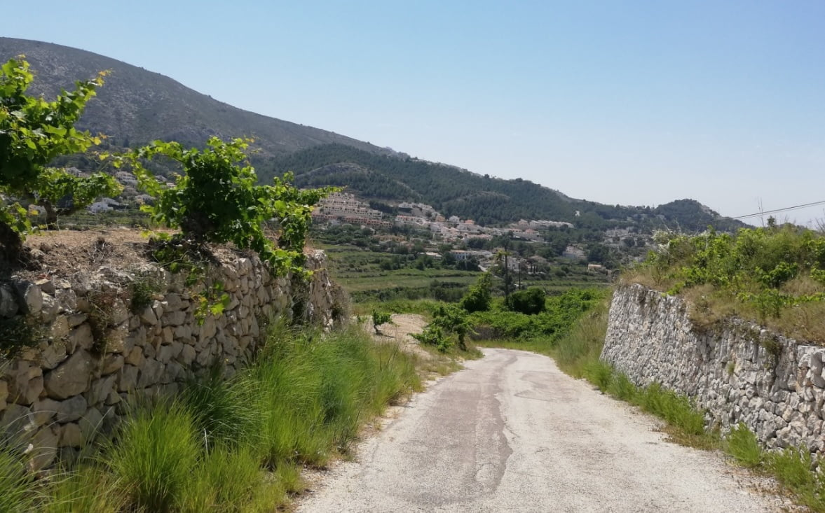 Camí de la Roca en Benitatxell