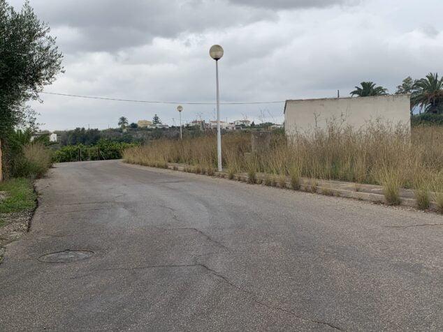 Imagen: Camino rural de Xàbia