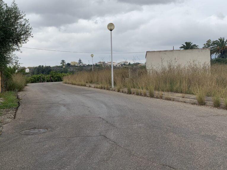 Camino rural de Xàbia