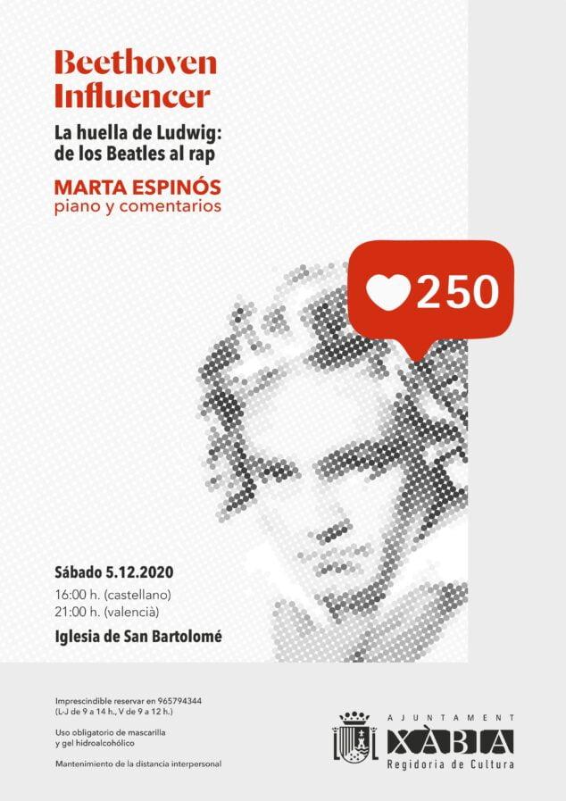 Imatge: Cartell de l'Concert de Marta Espinós