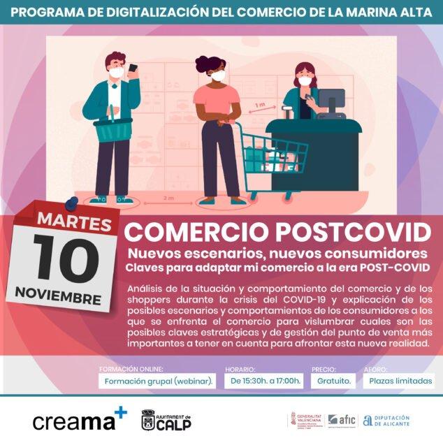 Imagen: Charla Comercio post COVID