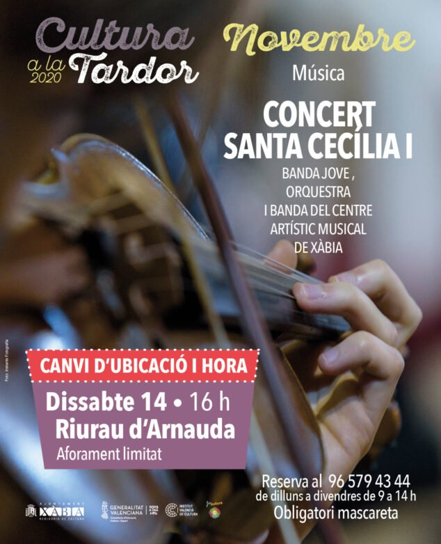 Imagen: Concierto Santa Cecilia Xàbia