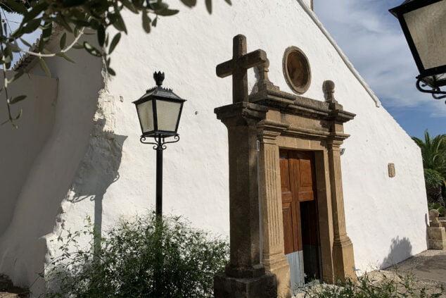 Imagen: Cruz de la ermita del Pòpul de Xàbia