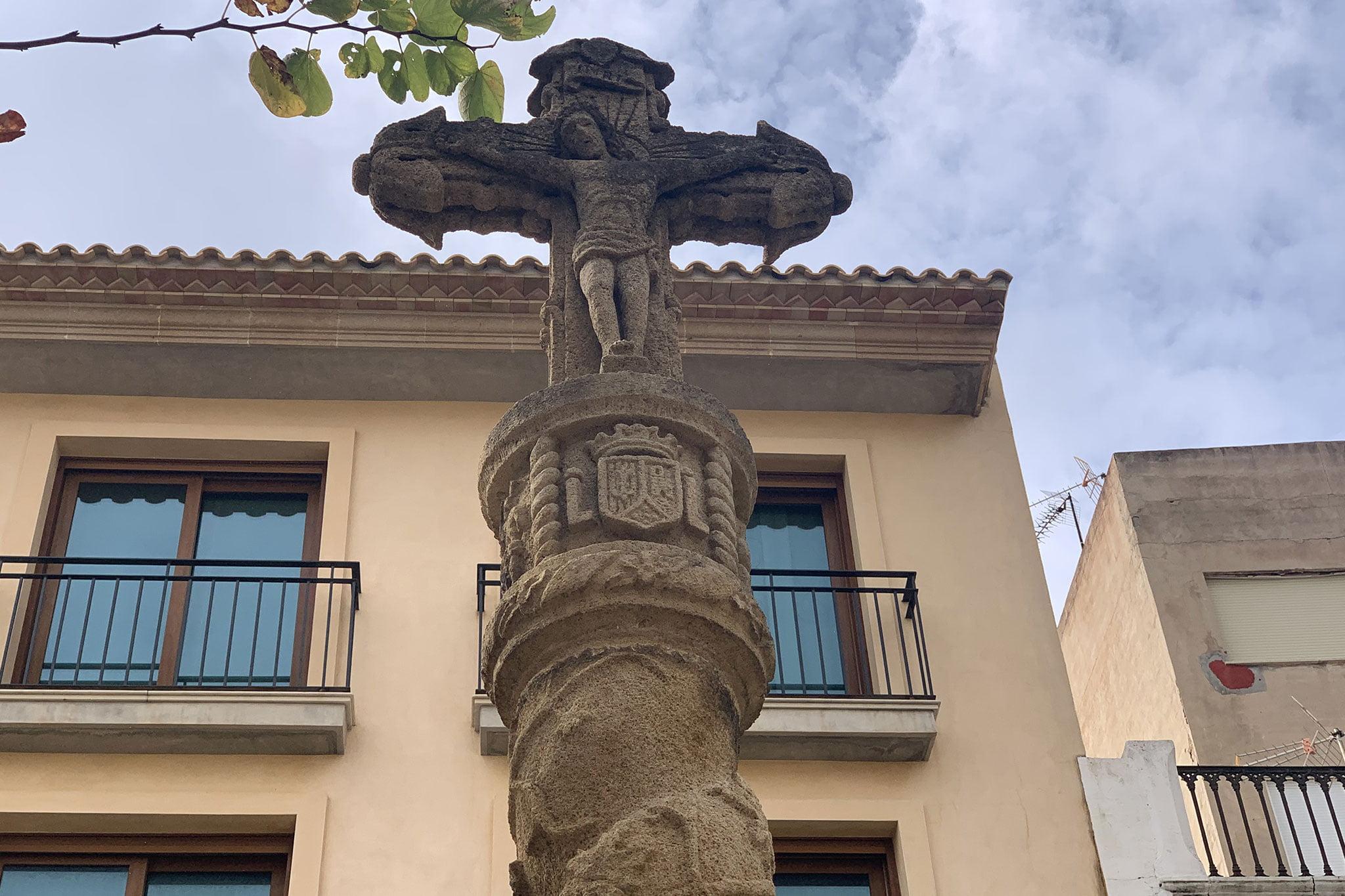 Creu Portal de la Mar de Xàbia